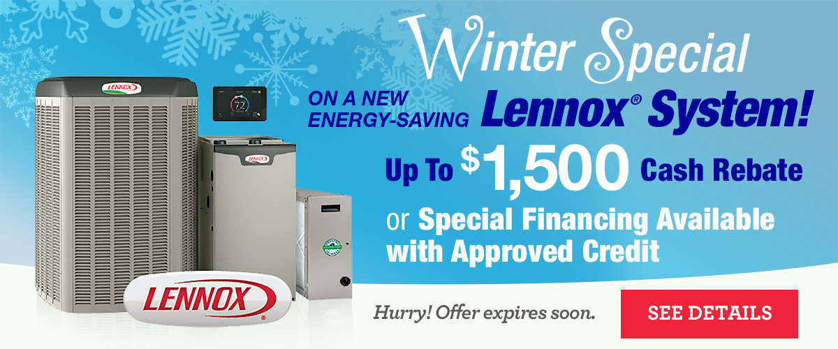 Lennox Special Financing